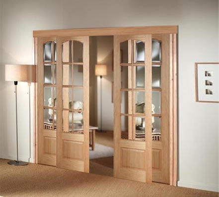 Interior doors overisel lumber west michigan for Sliding glass door styles