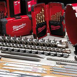 Power Tool Accessories by Milwaukee Tools